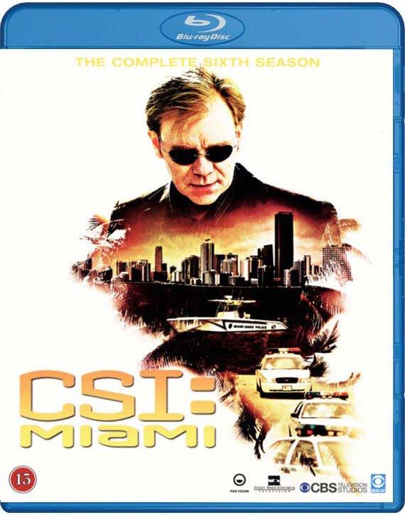 Csi - Miami - Sæson 6 - Blu-Ray - Tv-serie