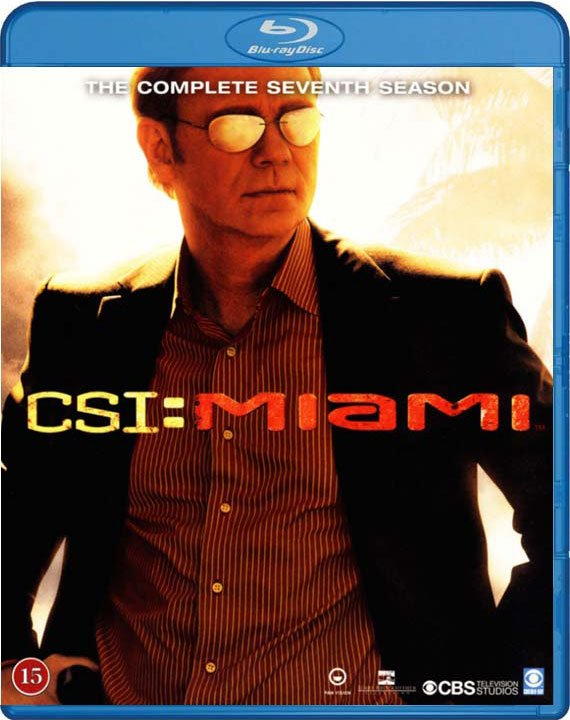 C.s.i. Miami - Sæson 7 - Blu-Ray - Tv-serie