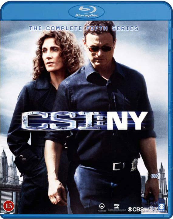 C.s.i. New York - Sæson 5 - Blu-Ray - Tv-serie