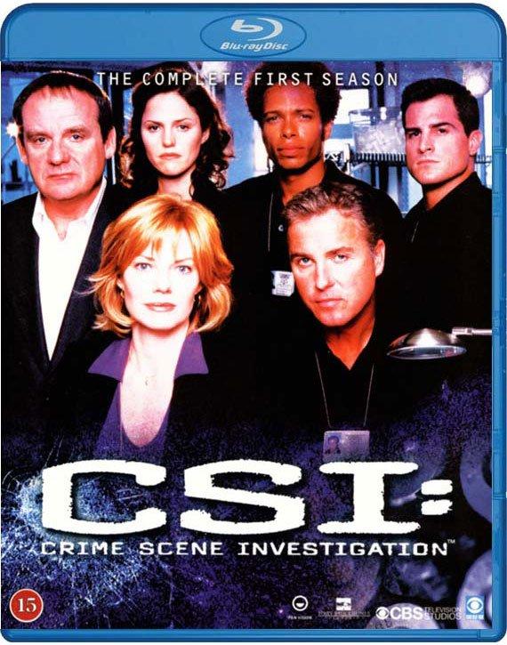 C.s.i. - Sæson 1 - Blu-Ray - Tv-serie
