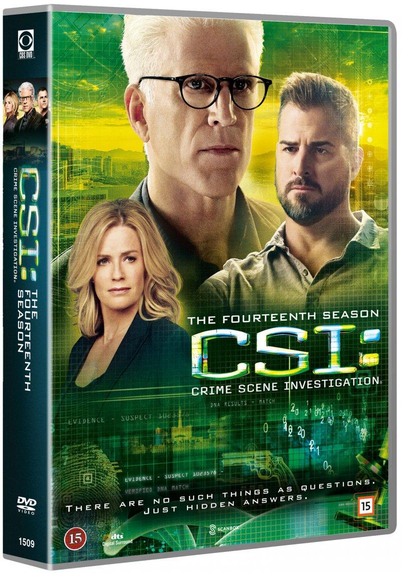 Image of   C.s.i - Sæson 14 - DVD - Tv-serie