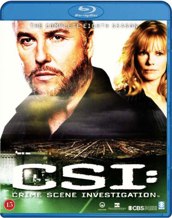 Image of   C.s.i. - Sæson 8 - Blu-Ray - Tv-serie