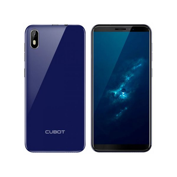 "Image of   Cubot J5 Mobiltelefon - 5,5"" Display - 8mp Kamera - 16gb - Blå"