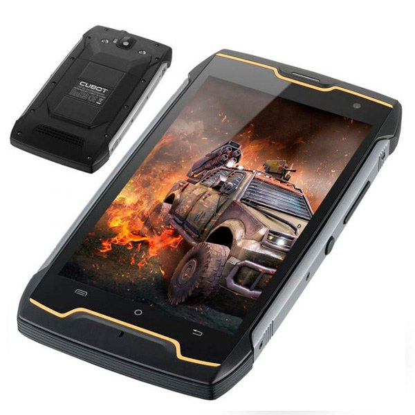 "Image of   Cubot King Kong 5 Mobiltelefon - 5"" Display - 8mp Kamera - 16gb Plads - Sort"