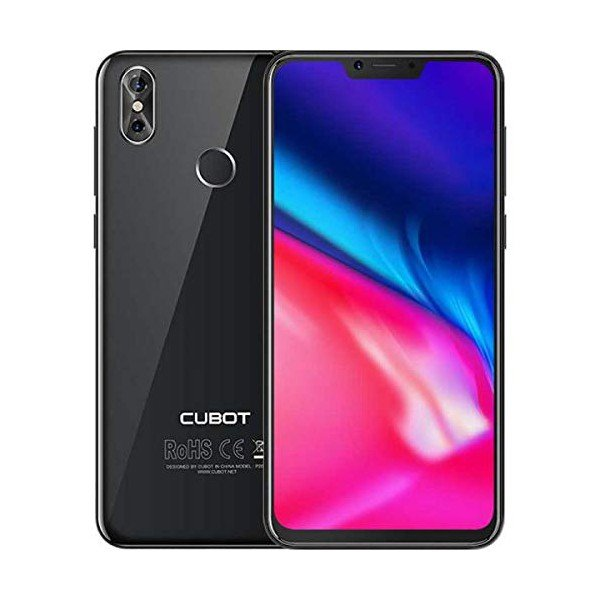 "Image of   Cubot P20 Mobiltelefon - 6,18"" Display - 20mp Kamera - 64gb Plads - Sort"