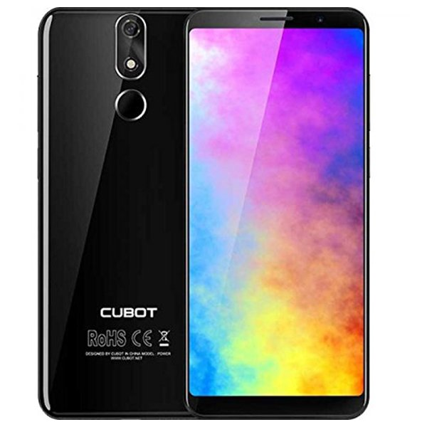 "Image of   Cubot Power 6 Mobiltelefon - 6"" Display - 20mp Kamera - 128gb Plads - Sort"