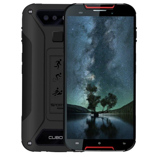 "Image of   Cubot Quest Lite Mobiltelefon - 5"" Display - 13mp Kamera - 32gb - Rød Sort"