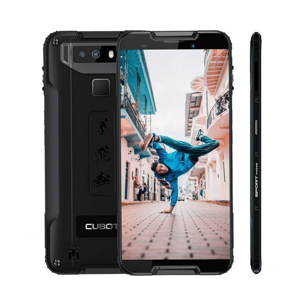 "Image of   Cubot Quest Mobiltelefon - 5,5"" Display - 12mp Kamera - 64gb Plads - Sort"