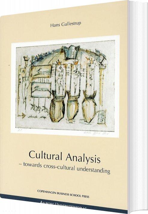 Image of   Cultural Analysis - Hans Gullestrup - Bog
