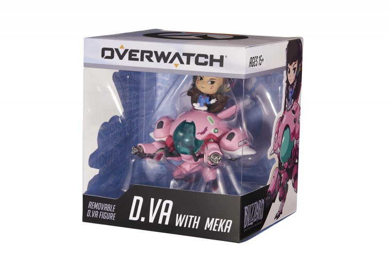 Image of   Overwatch Cute But Deadly Figur - D.va With Meka