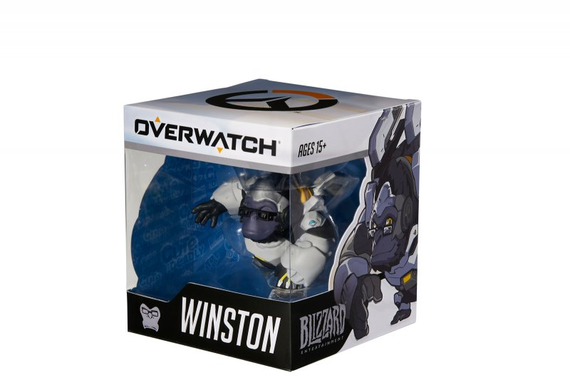 Image of   Overwatch Cute But Deadly Medium Figur - Winston