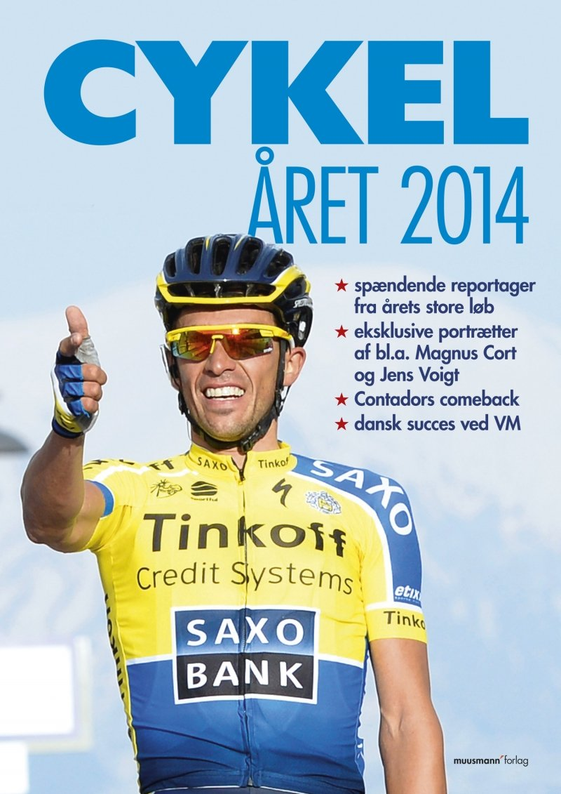 Image of   Cykelåret 2014 - Jesper Ralbjerg - Bog