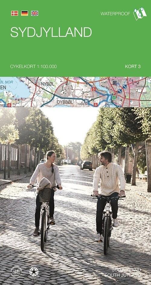 Image of   Cykelkortserie Danmark 3: Sydjylland - Bog