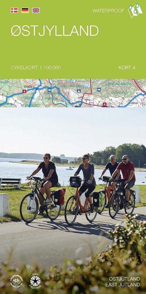 Image of   Cykelkortserie Danmark 4: østjylland - Legind - Bog