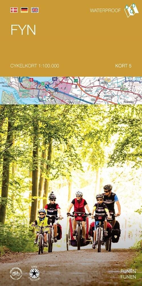 Image of   Cykelkortserie Danmark 5: Fyn - Diverse - Bog