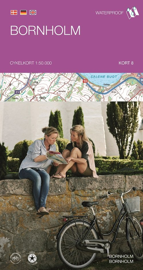 Image of   Cykelkortserie Danmark 8: Bornholm - Diverse - Bog