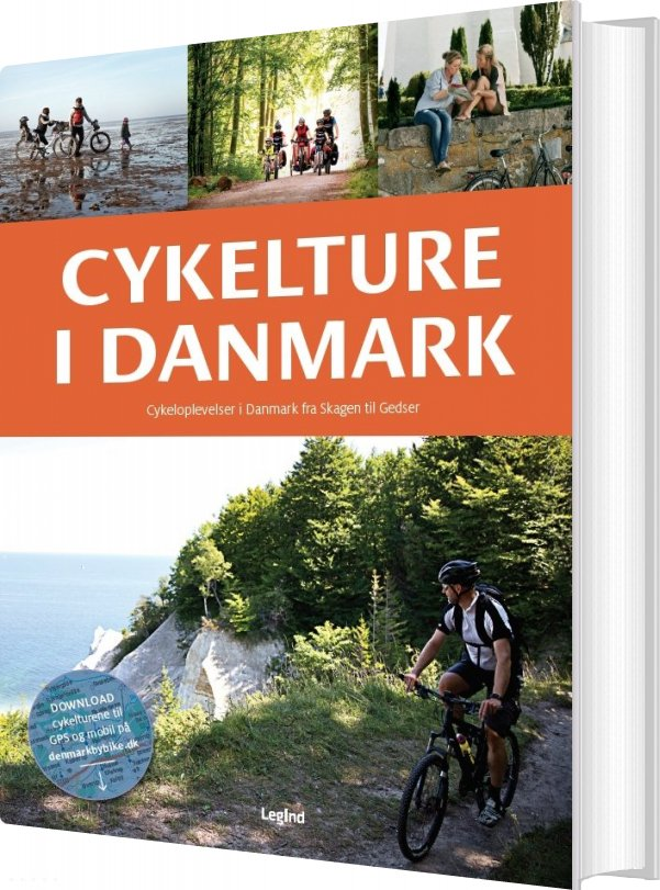 Image of   Cykelture I Danmark - Helle Midtgaard - Bog