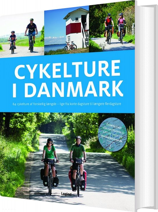 Image of   Cykelture I Danmark - Jesper Pørksen - Bog