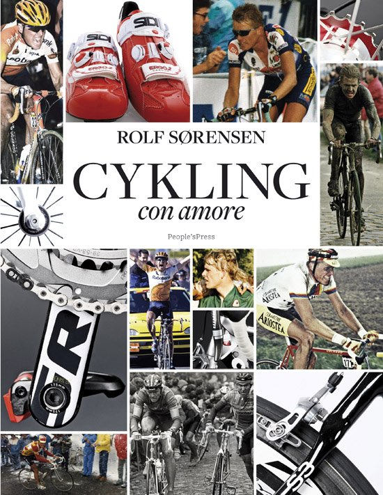 Image of   Cykling - Con Amore - Rolf Sørensen - Bog