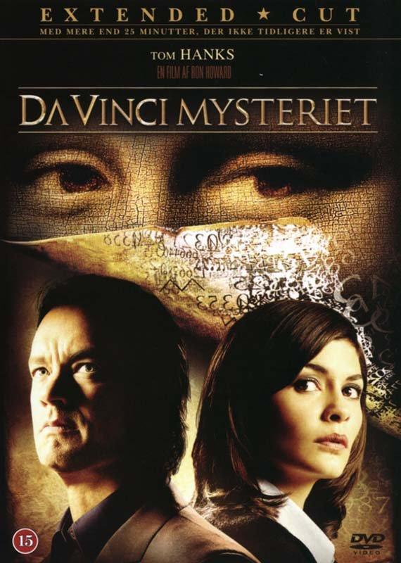 Image of   Da Vinci Mysteriet / The Da Vinci Code - Extended Cut - DVD - Film