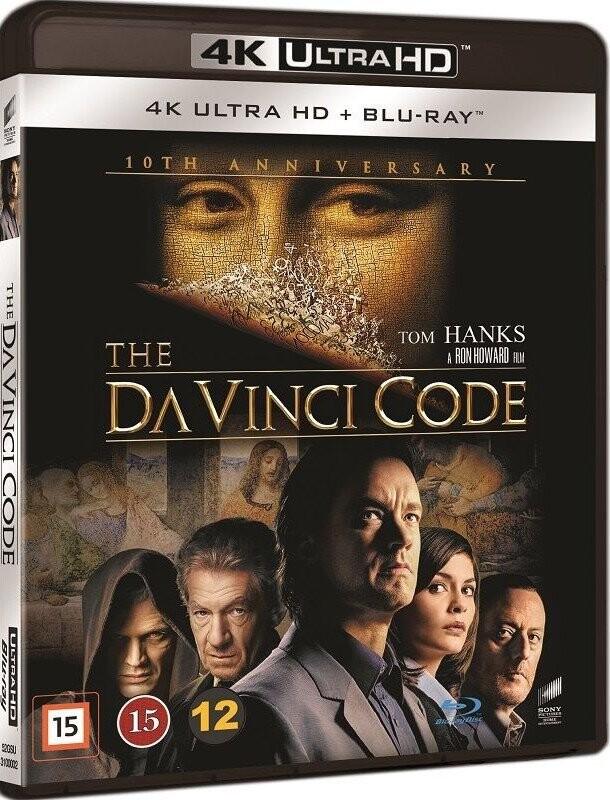 Billede af Da Vinci Mysteriet / The Da Vinci Code - 4K Blu-Ray