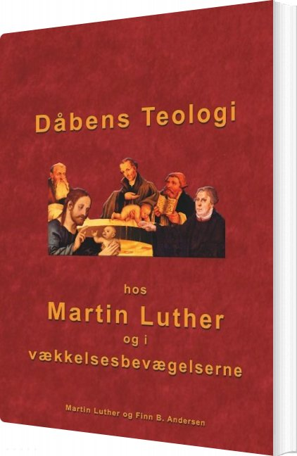 Image of   Dåbens Teologi - Finn B. Andersen - Bog