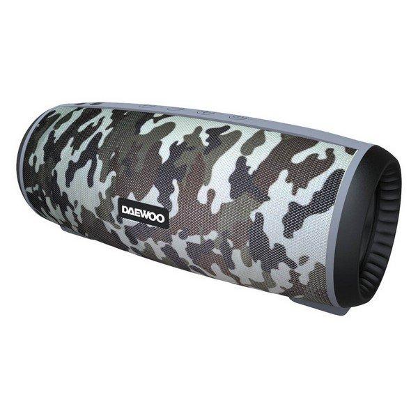 Image of   Daewoo Dbt-10 - Trådløs Bluetooth Højtaler 12w - Camouflage