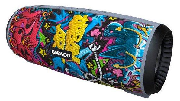 Image of   Daewoo Dbt-10 - Trådløs Bluetooth Højtaler 12w - Graffiti
