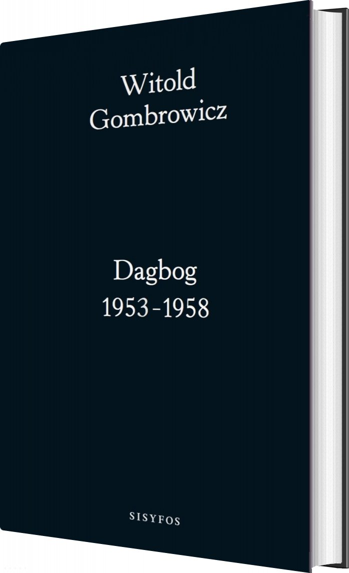 Image of   Dagbog 1953-58 - Witold Gombrowicz - Bog