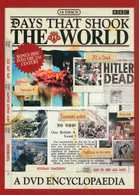 Billede af Days That Shook The World / Dage Der Rystede Verden - Samlet Udgave - DVD - Film