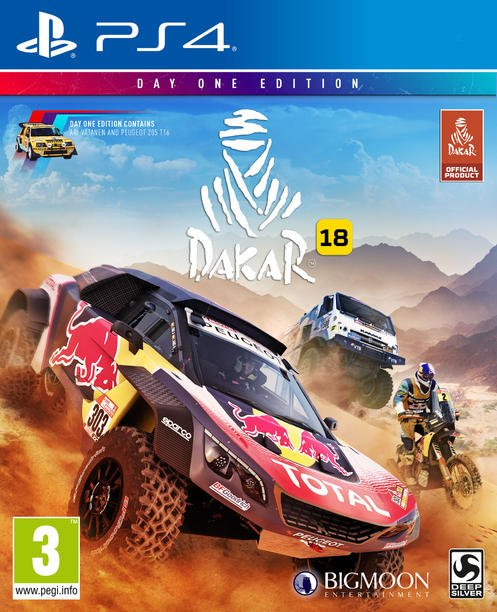 Image of   Dakar 18 (day One Edition) - PS4