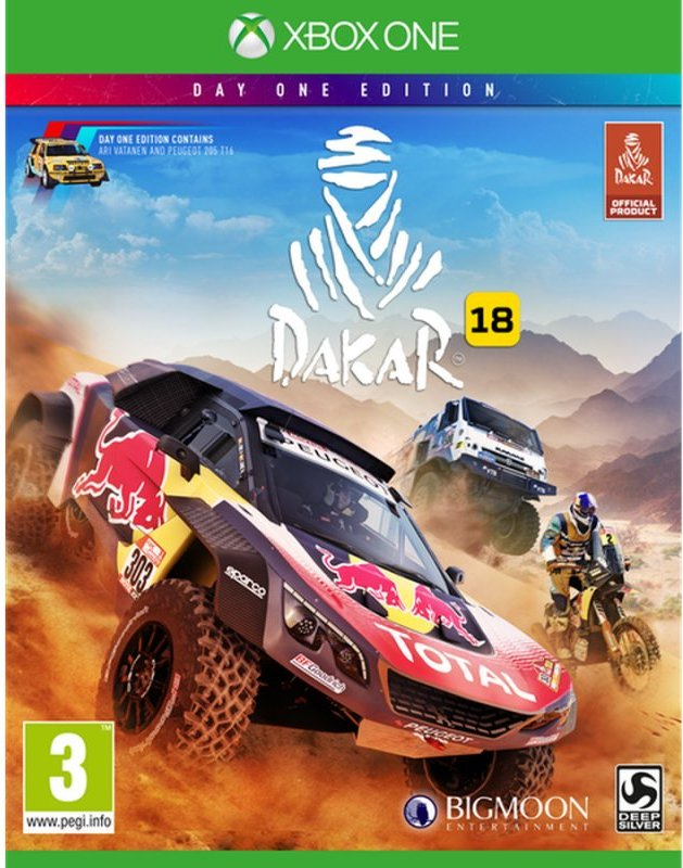 Image of   Dakar 18 (day One Edition) - Xbox One