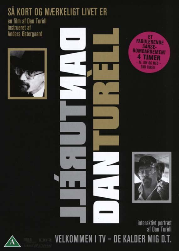 Image of   Dan Turèll - Så Kort Og Mærkeligt Livet Er - DVD - Film