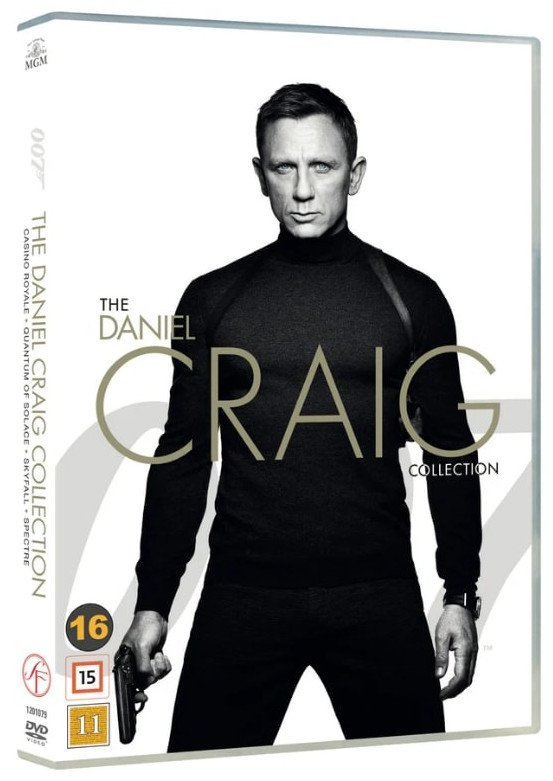 Image of   Casino Royale // Skyfall // Spectre // Quantum Of Solace - The Daniel Craig Collection - DVD - Film