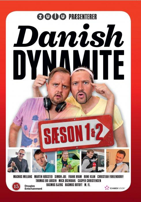 Image of   Danish Dynamite - Sæson 1+2 - DVD - Tv-serie