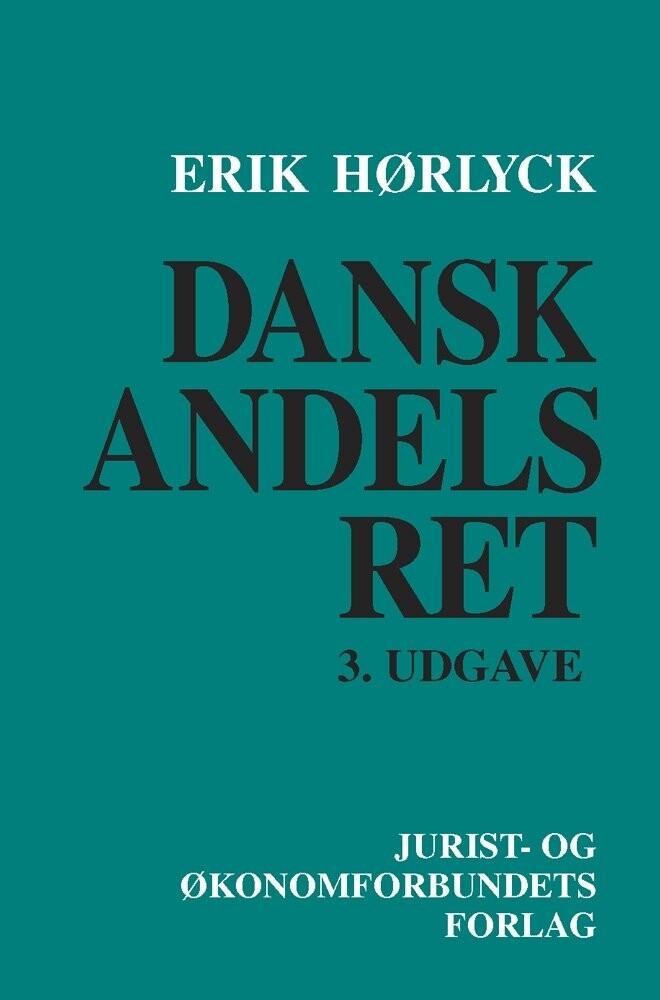 Image of   Dansk Andelsret - 3. Udgave - Hørlyck E - Bog