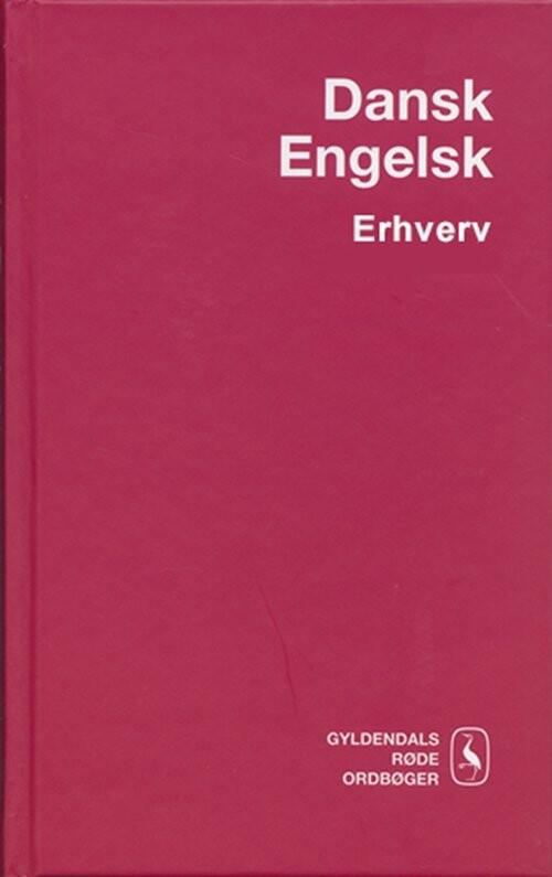 Dansk-engelsk Erhvervsordbog - Birger Andersen - Bog