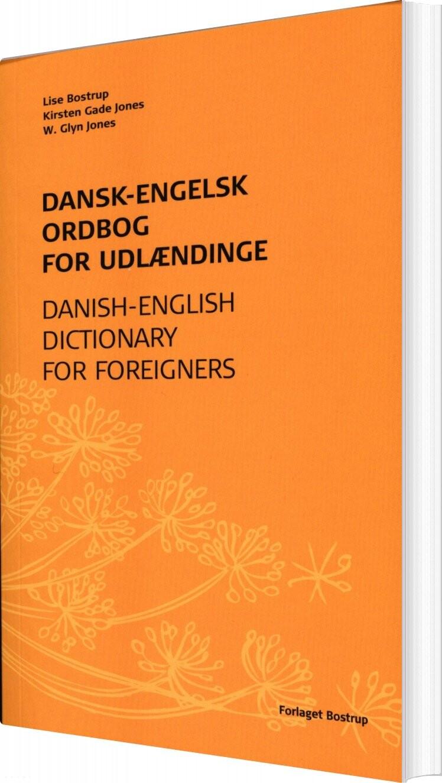 Dansk-engelsk Ordbog For Udlændinge - Lise Bostrup - Bog