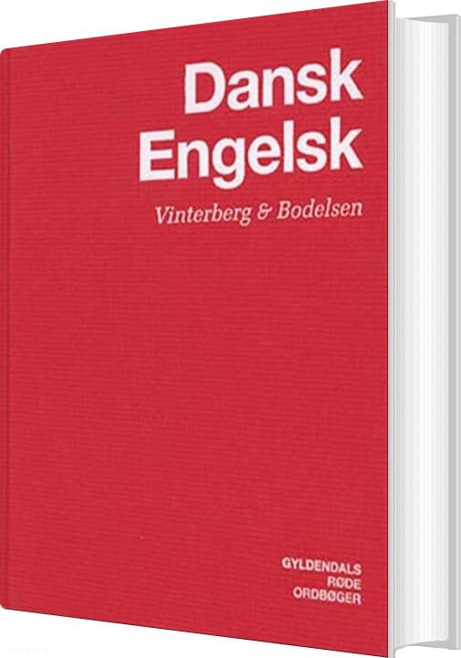 Køb Engelsk-dansk/dansk-engelsk Ordbog - Gyldendal Ordbogsafdeling - Bog billigt på tilbud ...