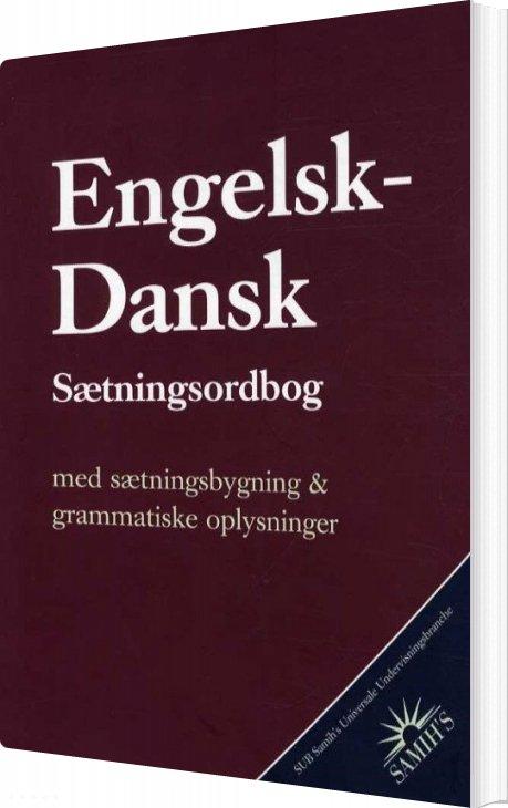 Dansk-engelsk Sætningsordbog - Samih Sadiek - Bog