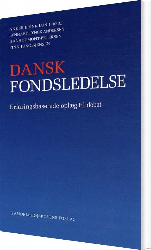 Billede af Dansk Fondsledelse - Anker Brink Lund - Bog