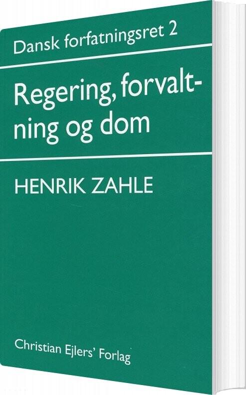 Image of   Dansk Forfatningsret 2 - Henrik Zahle - Bog