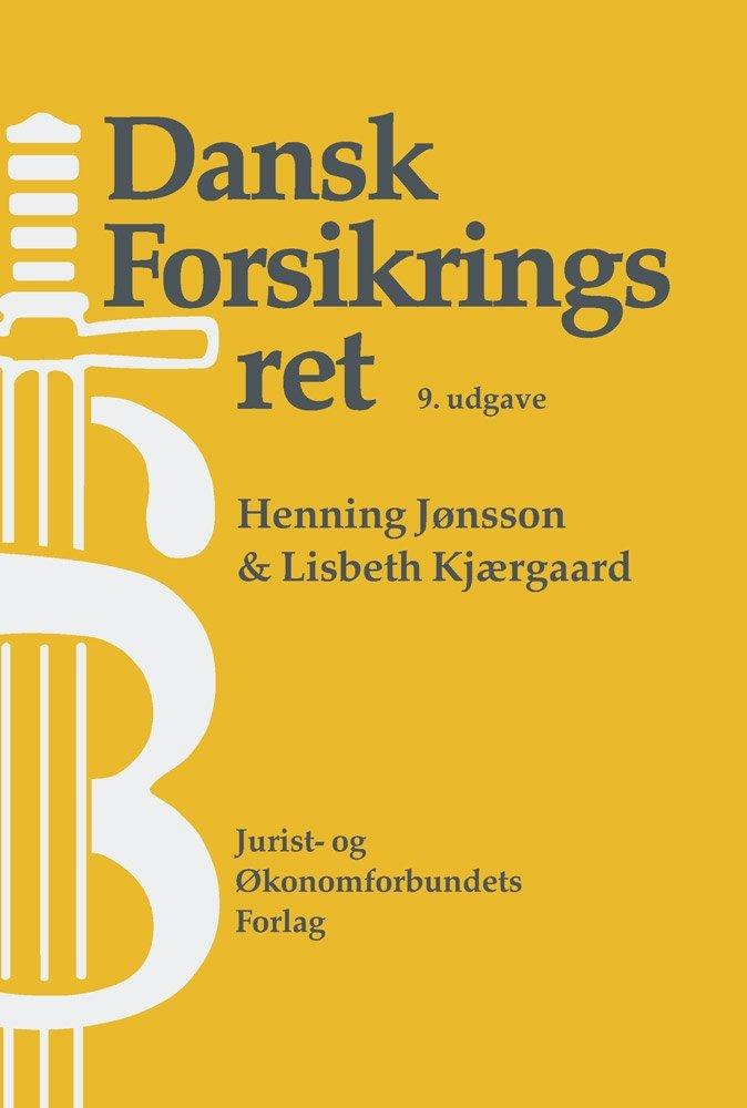 Billede af Dansk Forsikringsret 9 - Henning Jønsson - Bog
