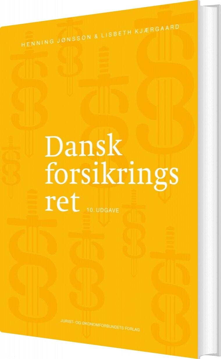 Image of   Dansk Forsikringsret - Henning Jønsson - Bog