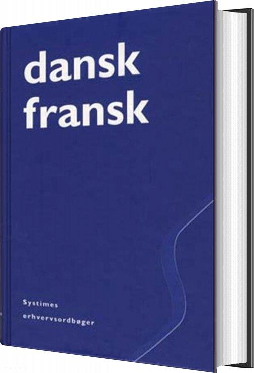 Dansk-fransk Erhvervsordbog - Sven Tarp - Bog