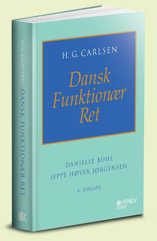 Image of   Dansk Funktionær Ret - H. G. Carlsen - Bog