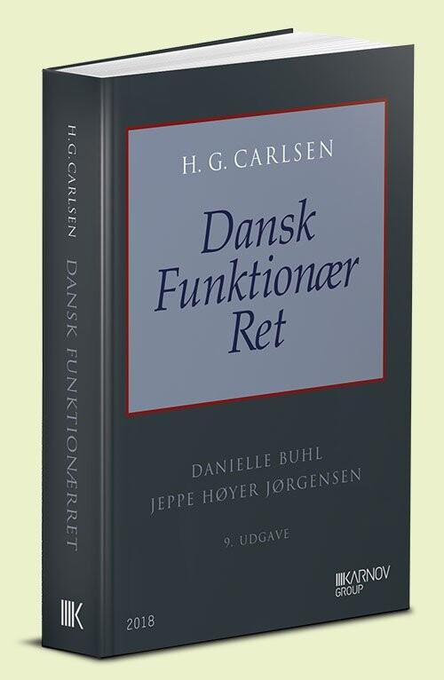 Image of   Dansk Funktionær Ret - Danielle Buhl - Bog