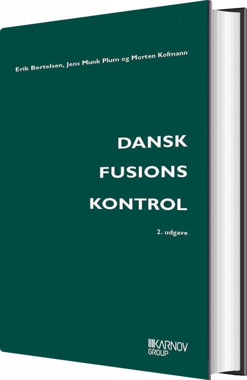 Billede af Dansk Fusionskontrol - Morten Kofmann - Bog