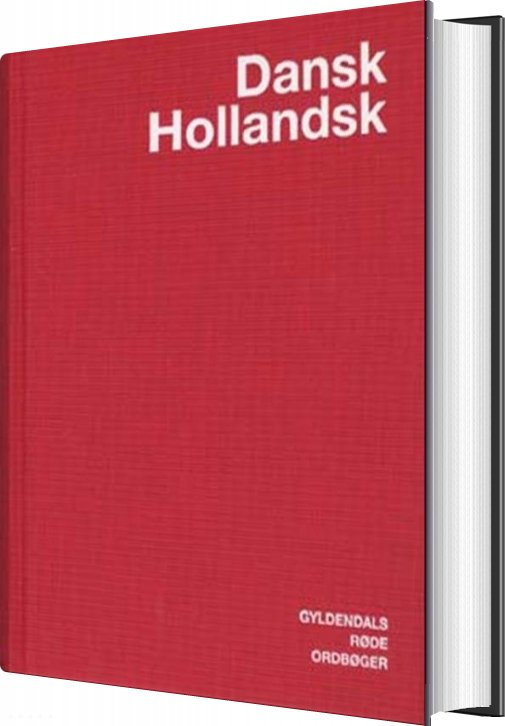 Image of   Dansk-hollandsk Ordbog - - Commissie Lexicografische Vertaalvoorzieningen - Bog