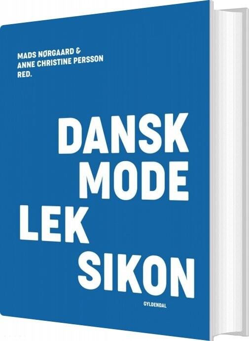 Image of   Dansk Modeleksikon - Blå - Anne Christine Persson - Bog